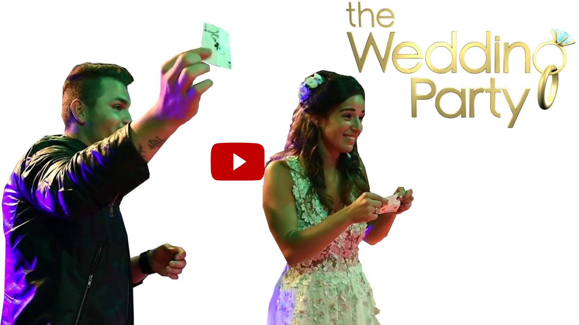 kouzelník tomasiano ukázky na svatbě