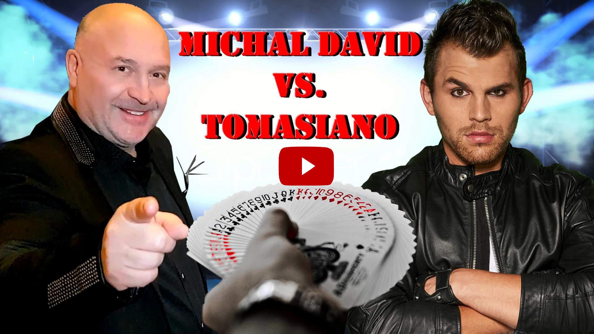 kouzelník tomasiano vip michal david